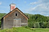 Old Barn With Cupola
