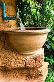Antique Pot Use For Lavatory