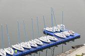 Dinghy Yachts in Ara Gimpo yacht basin
