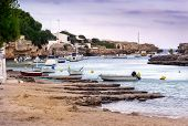 Boats On A Sea Loch, Menorca