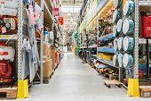 Tools And Utensils Hypermarket Aisle