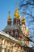 Novodevichy Convent Also Known As Bogoroditse-smolensky Monastery In Moscow, Russia. Unesco World He poster