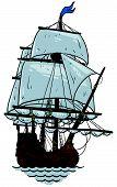 marine theme, sailboat