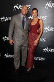 LOS ANGELES - JUL 23:  Dwayne Johnson, Irina Shayk at the