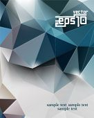 eps10 vector polygon elements abstract background