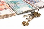 Russian Money And Keys