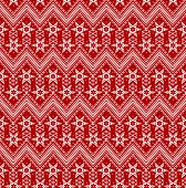 Seamless Christmas red background