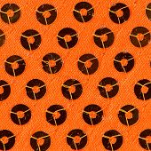Orange Paillette Background