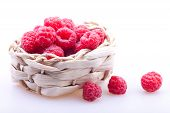 Basket With A Raspberry