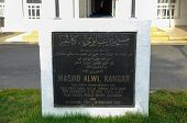 Main Signage of Alwi Mosque in Kangar