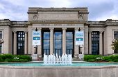 ST. LOUIS, MISSOURI - MAY 20, 2013: Missouri History Museum. The Jefferson Memorial Building, built