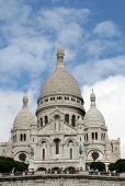 The Sacre Coeur, Montmartre, Paris, France