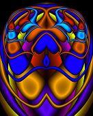 A Royal Egyptian Fractal Scarab