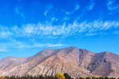 Hills In The Elqui Valley