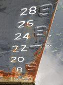 Boat Tide Scale