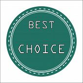 Best Choice Icon, Badge, Label or Sticke