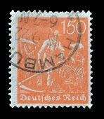 German Reich stamp 1921