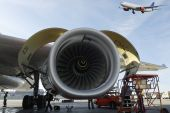 jet engine and aircrafts