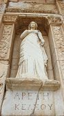Efes Celsus Library And Sculpture