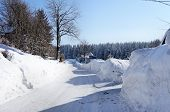 Winter in the Erzgebirge