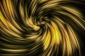 Surreal Vortex Light Spin
