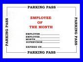 Employee Parking Pass