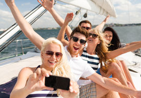 stock photo of selfie  - vacation - JPG