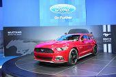 Bangkok - November 28: Ford Mustang Car On Display At The Motor Expo 2014 On November 28, 2014 In Ba