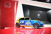 Bangkok - November 28: Image Zoom Of Mg Car On Display At The Motor Expo 2014 On November 28, 2014 I