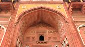 stock photo of mughal  - Agra Fort is a UNESCO World Heritage site in Agra Uttar Pradesh India - JPG