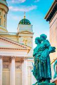 Element Of Statue Of Emperor Alexander II Of Russia
