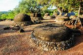 Ancient megalithic stones in Savu island