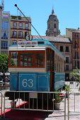 Malaga trolley bus