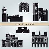 Avila Landmarks And Monuments