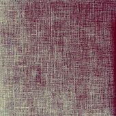 Grunge texture with decorative elements and different color patterns: gray; purple (violet); blue