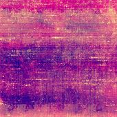 Grunge colorful texture for retro background. With different color patterns: purple (violet); orange; pink