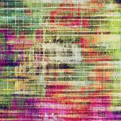 Old grunge textured background. With different color patterns: green; purple (violet); pink; red; orange; yellow