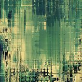 Old abstract grunge background for creative designed textures. With different color patterns: gray; green
