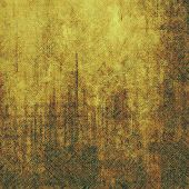 Art grunge vintage textured background. With different color patterns: yellow; brown; orange; beige