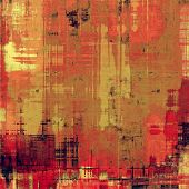 Grunge old-school texture, background for design. With different color patterns: red; orange; brown; yellow