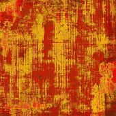 Retro background with grunge texture. With different color patterns: yellow; brown; red; orange