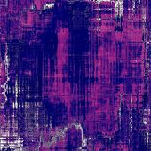 Grunge aging texture, art background. With different color patterns: purple (violet); blue; pink