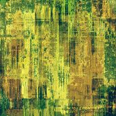 Old ancient texture, may be used as abstract grunge background. With different color patterns: yellow; brown; green; beige