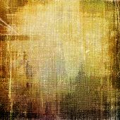 Old texture as abstract grunge background. With different color patterns: gray; brown; yellow