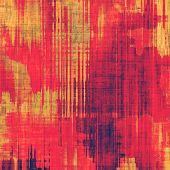 Abstract old background or faded grunge texture. With different color patterns: purple (violet); red; orange; yellow