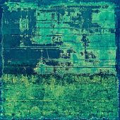 Grunge texture, may be used as retro-style background. With different color patterns: yellow; green; blue