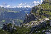 Rocks Over The Precipice.