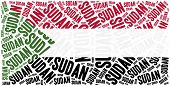 picture of north sudan  - National flag of Sudan - JPG