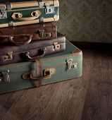 Vintage And Travelling Concept