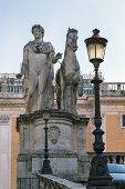 A Statue Of One Of The Dioscuri, Rome